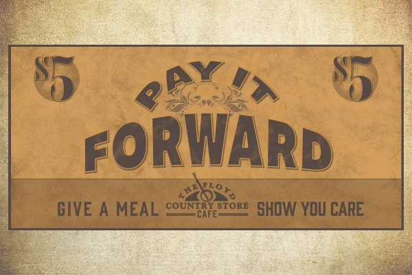 Pay It Forward Ticket 3x2