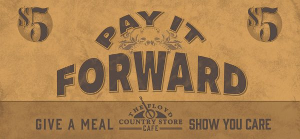 Pay it Forward Ticket