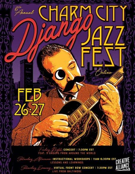 6th Annual Charm City Django Jazz Festival