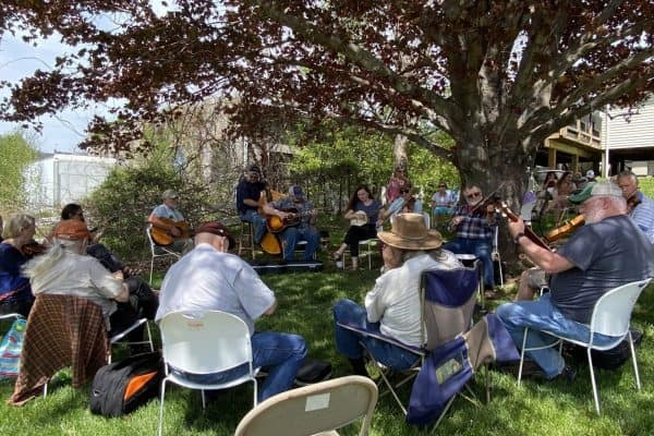 Backyard Sunday Music Jam