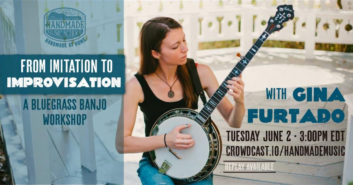 From Imitation to Improvisation with Gina Furtado Banner