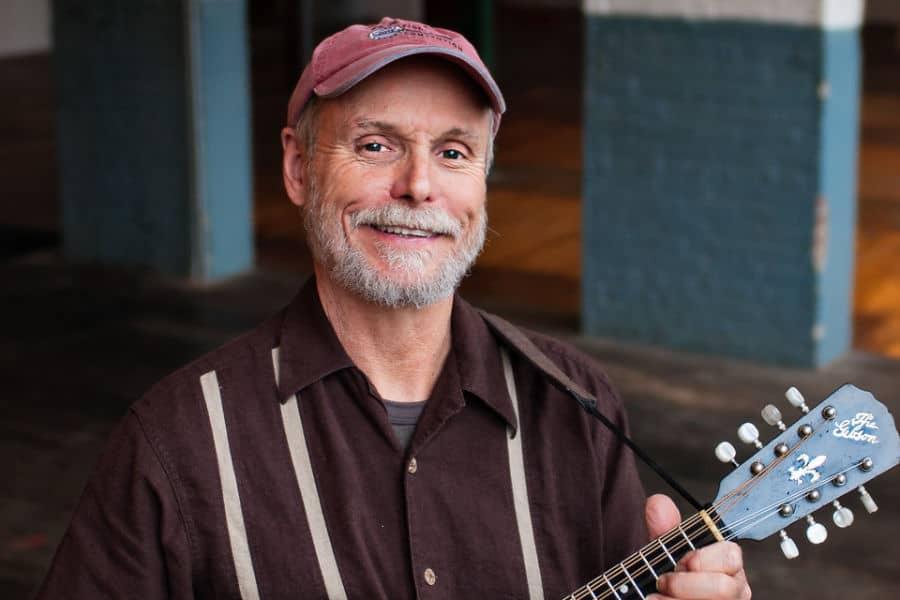 Carl Jones with Mandolin