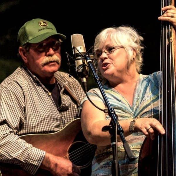 David Lay on Guitar with Linda Lay on bass