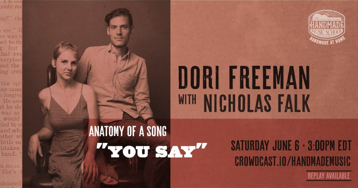 Anatomy of a Song: You Say with Dori Freeman and Nicholas Falk Banner