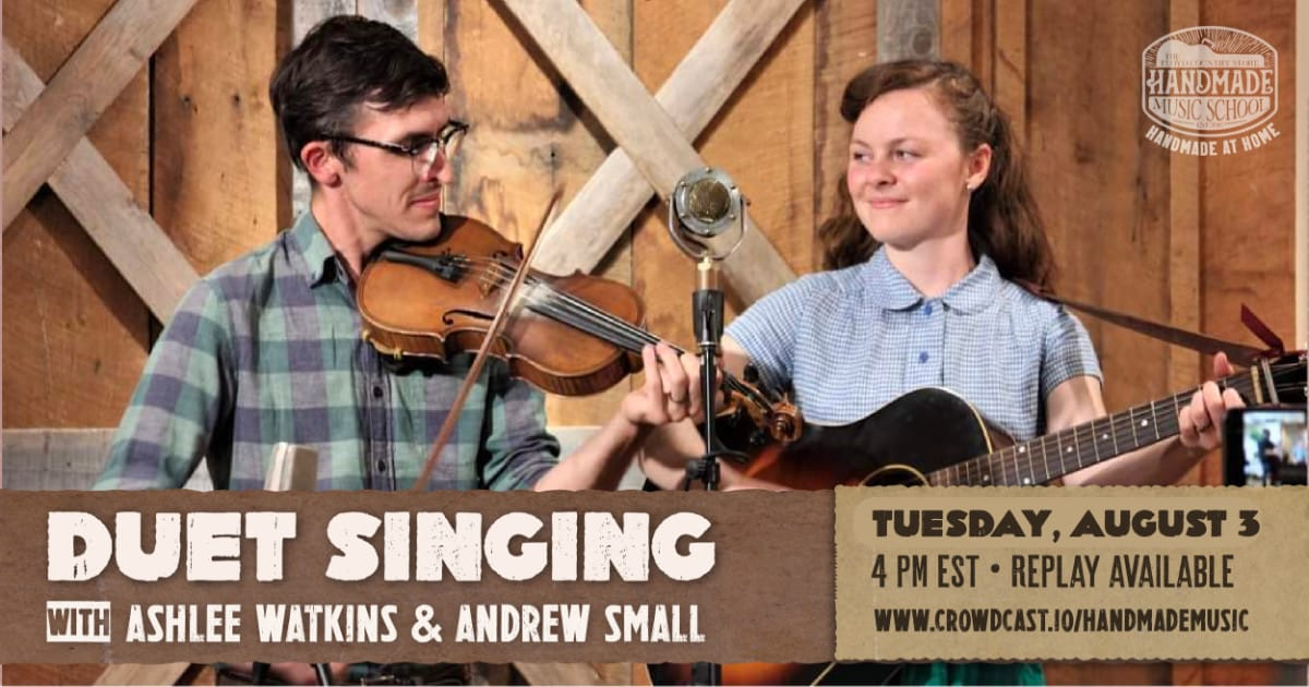 Duet Singing with Ashlee Watkins and Andrew Small