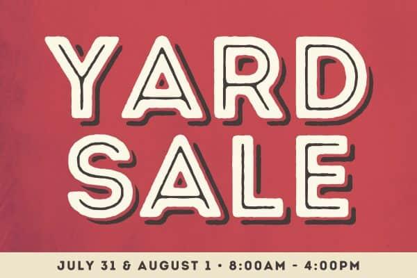 FCS Yard Sale 2021