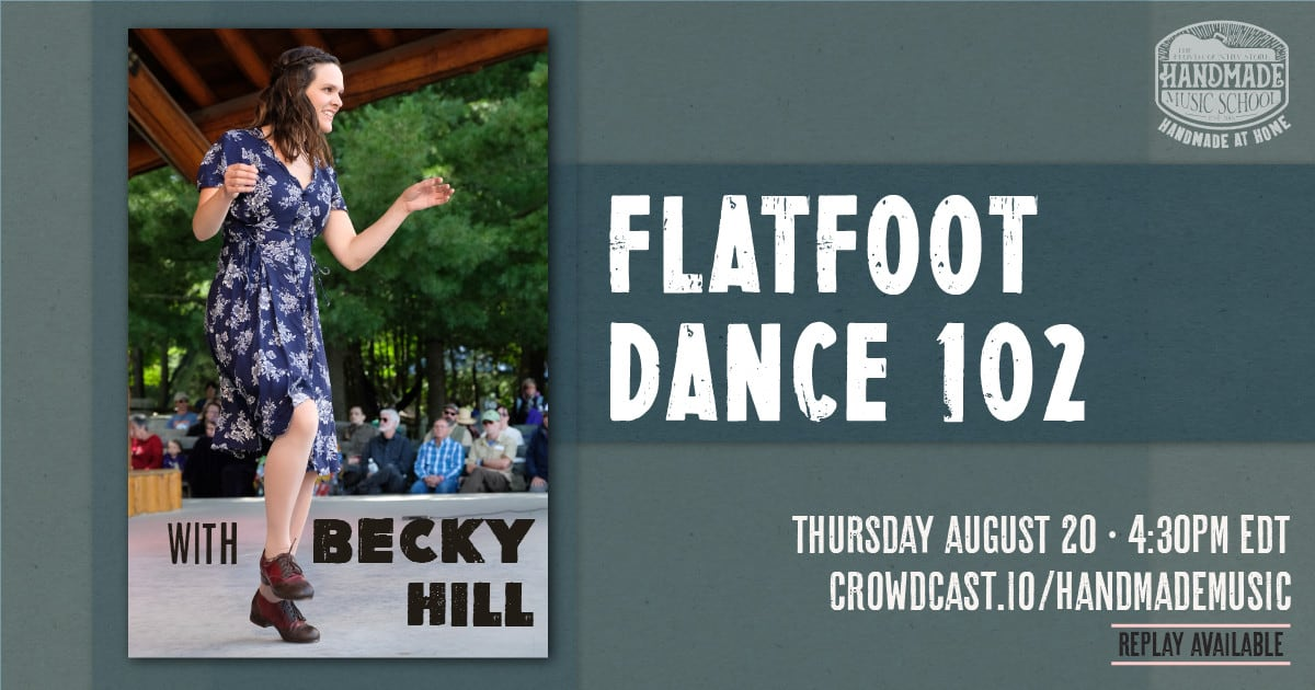 Flatfooting 102 with Becky Hill