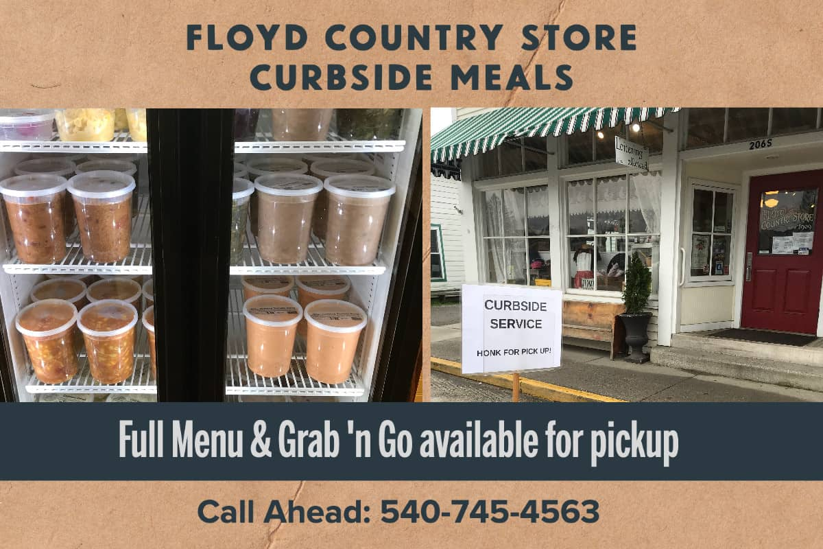Floyd Country Store Curbside Meals