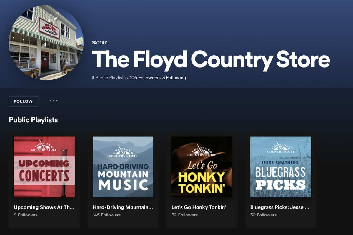 Floyd Country Store on Spotify