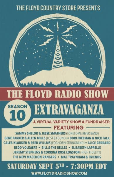 Floyd Radio Show Season 10 Extravaganza Poster