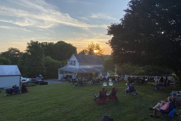 Friday Night Backyard Jamboree at Sunset