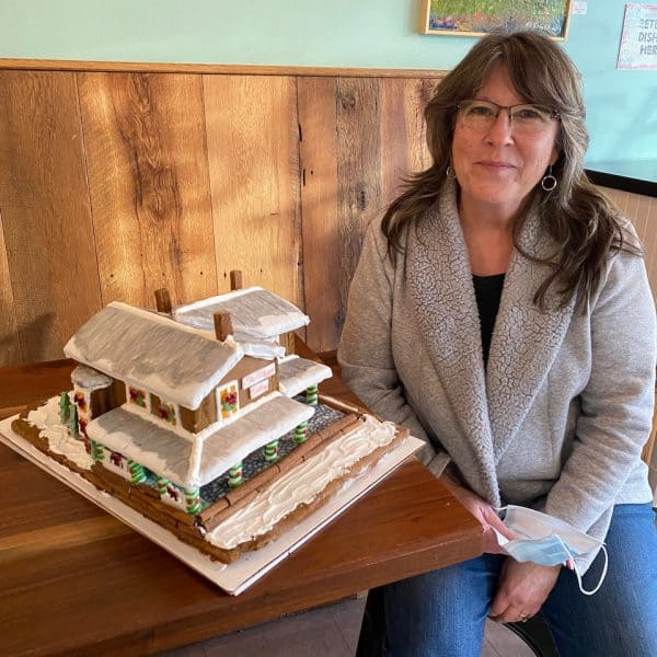 Gingerbread house winner Business Category: The Maggie Gallery