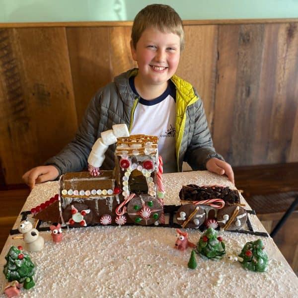 Youth Category: Christmas Train - Samuel Houston