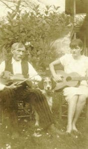 Grandfather Charles McReynolds and daughter, Maggie