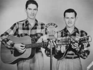 Jim and Jesse in an early publicity photo (1947)