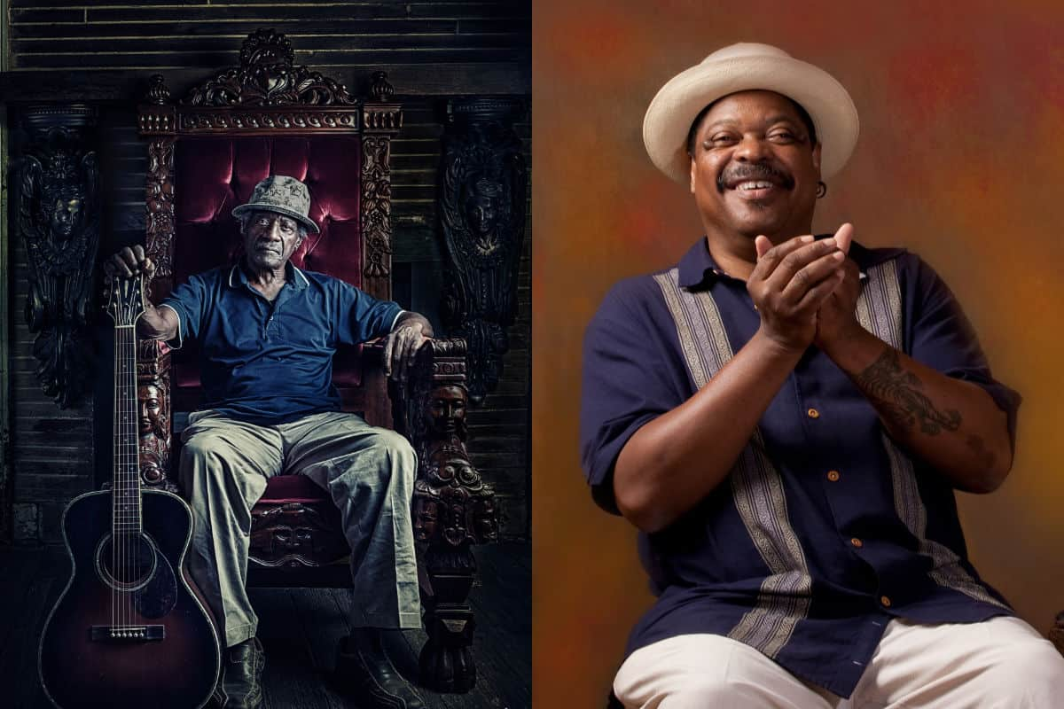 Jimmy Duck Holmes and Phil Wiggins