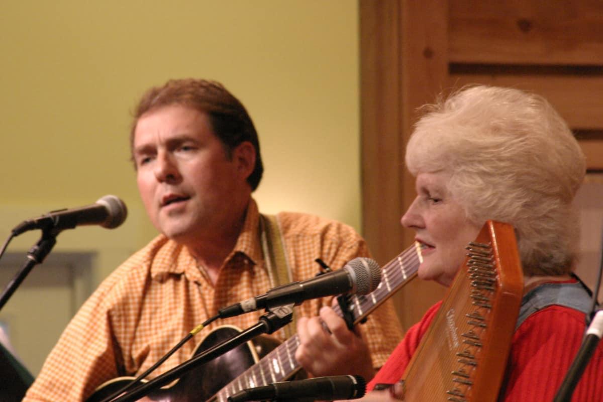Mac Traynham and Janet Turner