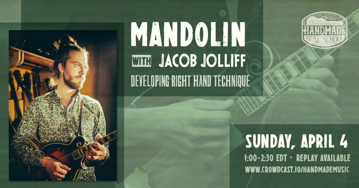 Mandolin with Jacob Jolliff