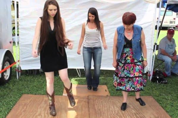 Martha Spencer Flatfoot Dancing