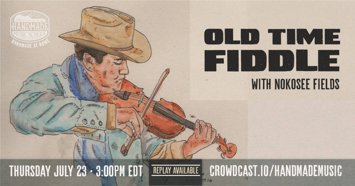 Old Time Fiddle with Nokosee Fields