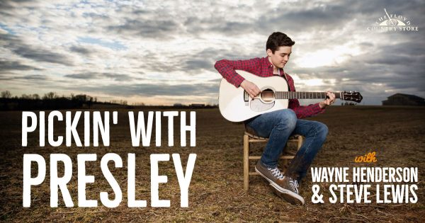 Pickin with Presley Banner