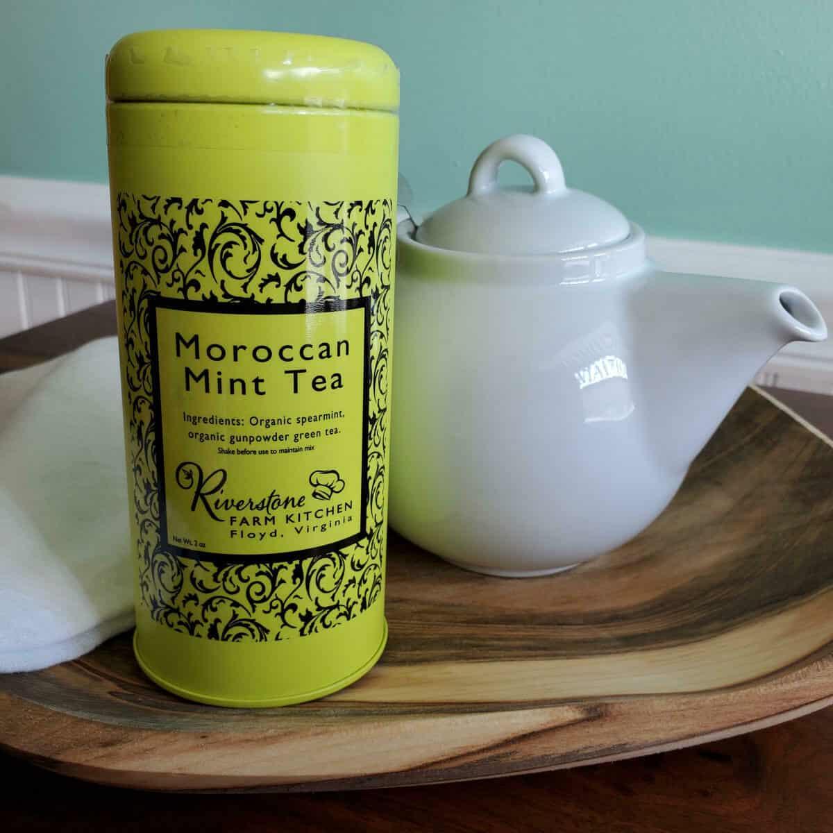 Riverstone Organic Farm Moroccan Mint Tea