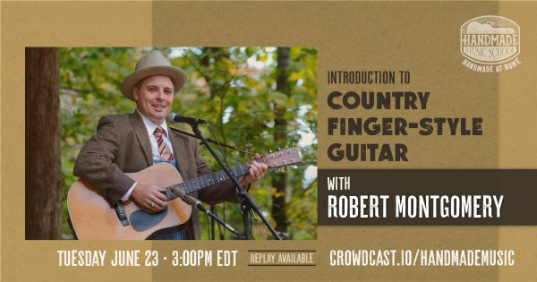 Introduction to Country Finger-style Guitar with Robert Montgomery