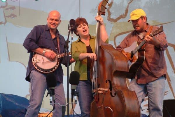 Sammy Shelor, David & Linda Lay