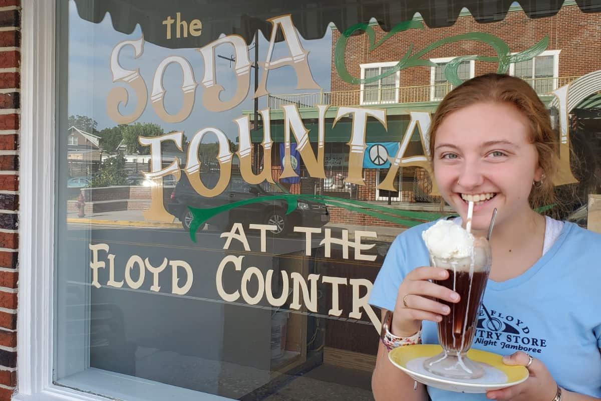 The Soda Fountain Exterior
