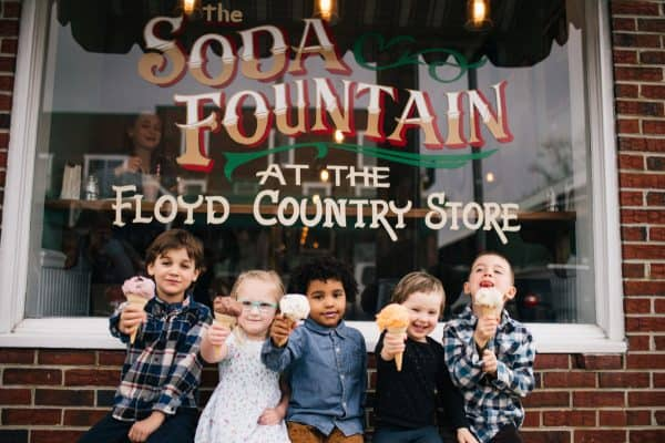 Soda Fountain Kids with Cones