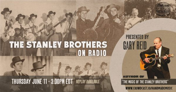 The Stanley Brothers On Radio with Gary Reid Banner
