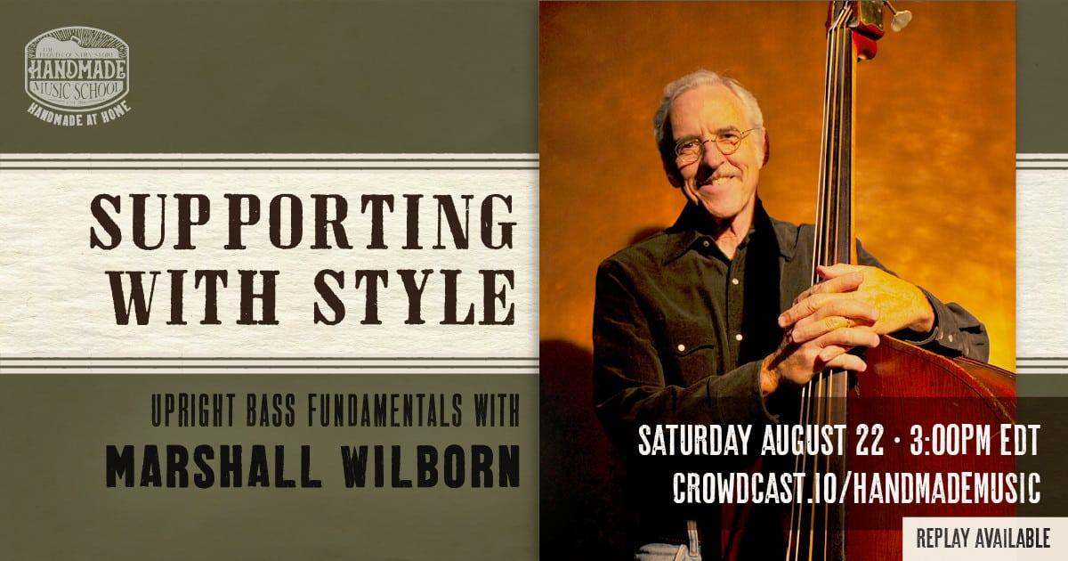 Marshall Wilborn Upright Bass Fundamentals