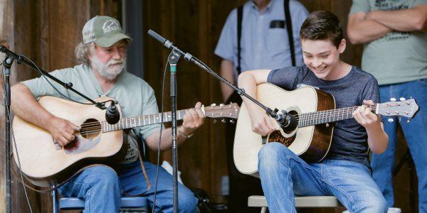 Wayne Henderson & Presley Barker